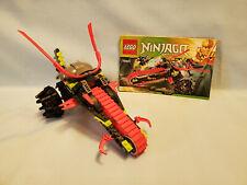 LEGO Ninjago #70501 Warrior Bike - Complete with Instructions, No Minifigures