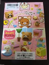 RE-MENT Rilakkuma relaxed cat cafe BOX commodity 1BOX = 8 pieces, all eight