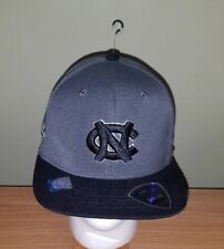 North Carolina Tar Heels NCAA Gray and Black Fitted One Size TotW Hat NEW