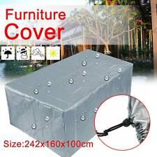Outdoor Cover Garden Furniture Waterproof Patio Rattan Table Cube Set