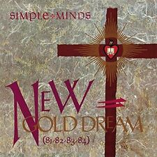 *NEW* CD Album Simple Minds - New Gold Dream 81-82-83-84 Mini LP Style Card Case