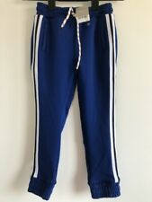 Next boys tracksuit sports pants trousers blue age 5 Years Child Height 110cm