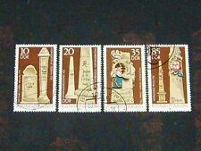 DDR 1984 gestempelt Nr. 2853 - 2856 Bauwerke der Post Postmeilensäulen ( 296 )