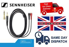 REPLACEMENT AUDIO CABLE FOR SENNHEISER HD25 HD420 HEADPHONES 1.2M - NEW