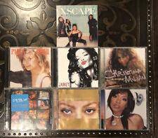 Classic Diva 7 Cd Lot: Janet Jackson Paula Abdul J Lo Brandy Keyshia Cole Milian