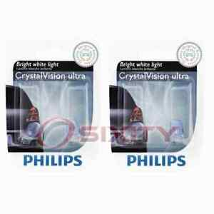 2 pc Philips Parking Light Bulbs for Mitsubishi 3000GT Diamante Eclipse Expo yx