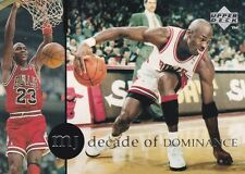 CHICAGO BULLS MICHAEL JORDAN 1994 UPPER DECK RARE AIR #75 DECADE OF DOMINANCE