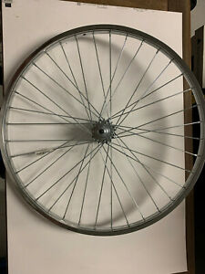 """22.75"""" x 1.25"""" Steel Bike Wheel 36 Spoke Chrome Bicycle Wheel"""
