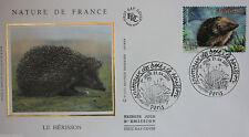ENVELOPPE PREMIER JOUR - 9 x 16,5 cm - ANNEE 2001 - LE HERISSON