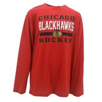 Chicago Blackhawks Official NHL Kids Youth Size Long Sleeve Athletic Shirt New