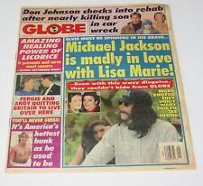 The Globe June 1994 Michael Jackson Don Johnson Fergie Tabloid Gossip Magazine