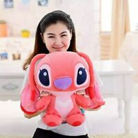 35cm Kawaii Stitch Long Ears Plush Toys Soft Cute Stuffed Animal For Kids gift