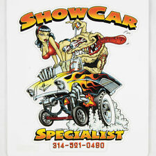 Zombie Hot Rod Wear COMIC Gasser Specialist Show Car Adesivo Sticker Decal