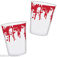 25 Haunted Halloween SURGERY HORROR Party Bloody 470ml Plastic Cups