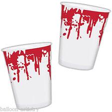 25 Haunted Halloween cirugía Horror Partido sangrienta 470ml Tazas De Plástico