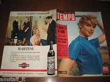 RIVISTA TEMPO 1957/16=LILLI CERASOLI=BRIGITTE BARDOT=KERENSKY=INGRID BERGMAN=