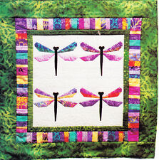 PATTERN - Bali Dragonfly - foundation paper pieced wall quilt PATTERN