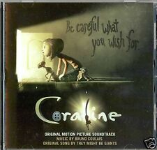 CORALINE Bruno Coulais SCORE CD - NEW !