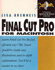 VISUAL QUICKPRO GUIDE : FINAL CUT PRO FOR MACKINTOSH., Brenneis, Lisa., Used; Ve