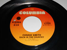 CONNIE SMITH VG++ Back In The Country 45 I Got A Lot Of Hurtin' Done Today 10086