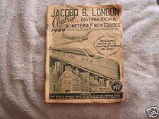 Jacobo B. London Catalog 1949