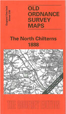 OLD ORDNANCE SURVEY MAP THE NORTH CHILTERNS AYLESBURY BERKHAMSTED TRING 1888