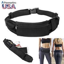 Waterproof Waist Belt Zip Pouch Pack Pocket Bag Outdoor Sport Gym Running iPhone