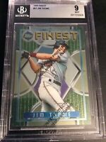 1995 Topps Finest #37 Jim Thome Cleveland Indians BGS 9 With Coating Graded