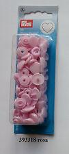 Herz Druckknöpfe Color Snaps 393347 pink 12,4 mm Prym nähen stricken Knopf