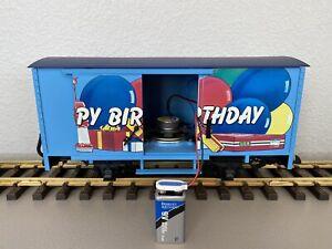 LGB 44352 :: Happy Birthday Wagon w/Sound G-Scale