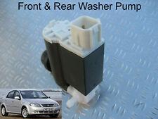 Front & Rear Windscreen Washer Pump Chevrolet Lacetti Hatchback