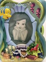 Disney The Little Mermaid Princess Flounder Sebastian 3-D 4x6 Picture Frame 3064