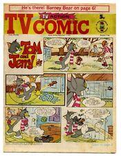 TV Comic 1146 (Dec 1 1973) Doctor Who, Pink Panther, Tarzan. Laurel & Hardy...