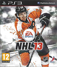 NHL 13 for Playstation 3 PS3 - with box & manual