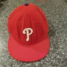 Philadelphia Phillies New Era 59 Fifty Hat Cap Size 7 1/2 Official On Field