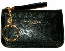 MARC  JACOBS Black Leather Key Holder Purse NWT