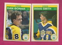 1982-83 OPC KINGS  BONAR RC + DOUG SMITH RC  NRMT CARD (INV# A4825)