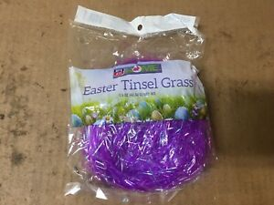 Rite Aid Easter Purple Tinsel Grass