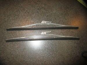 "1 Matched Pr.14"" Anco Pat#2728934 Wiper Blades Corvair,Corvette,Jeep,Studebaker?"