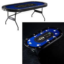 Barrington 10-Player Poker Table Home Game Tournament Foldable Casino BRAND NEW