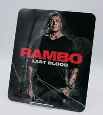 RAMBO Last Blood - Glossy Bluray Steelbook Magnet Cover (NOT LENTICULAR)