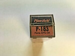 PANASONIC EPC-34-TTA PHONO CARTRIDGE/NEEDLE IN PFANSTIEHL P-183 PKG, NOS