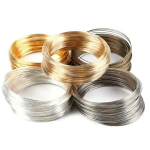100 Loops Memory Beading Steel Wire Jewelry Making Multi-layer Bangle Bracelet