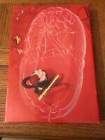 Mikasa Crystal Holiday Plate