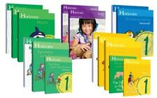 Alpha Omega Horizons 1st Grade 5 Subject Complete Curriculum Set NEW!