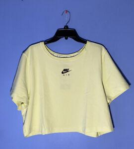 RARE! Nike Womens Short-Sleeve Crop Top Tee T-Shirt CZ3371 724 Plus Size 2X