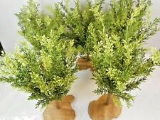 """G SCALE SCENERY TREES ~ (5) TOTAL 16"""" TALL BY 10"""" WIDE"""