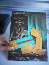 Vintage Store Counter Display Glycerine Soap