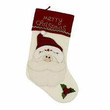 Santa Claus Merry Christmas Stocking
