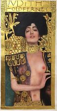 20x40 Gustav Klimt Judith & Head of Holofernes gold oil painting on canvas hand
